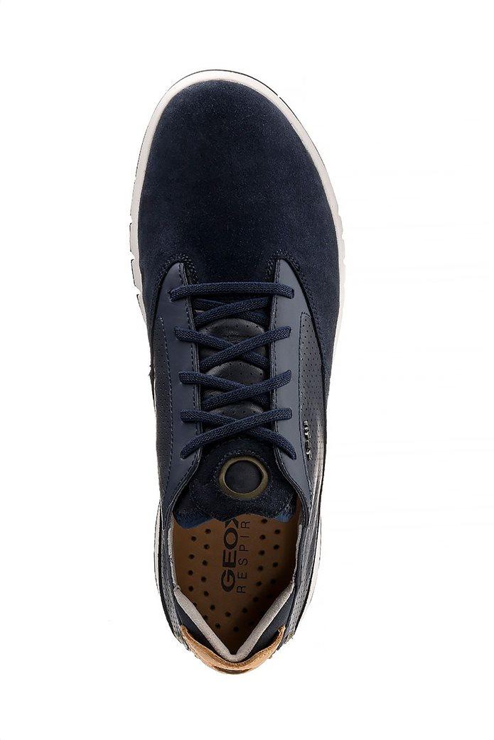 """Geox ανδρικά sneakers με ελαστικά κορδόνια """"Aerantis"""" Μπλε Σκούρο 3"""