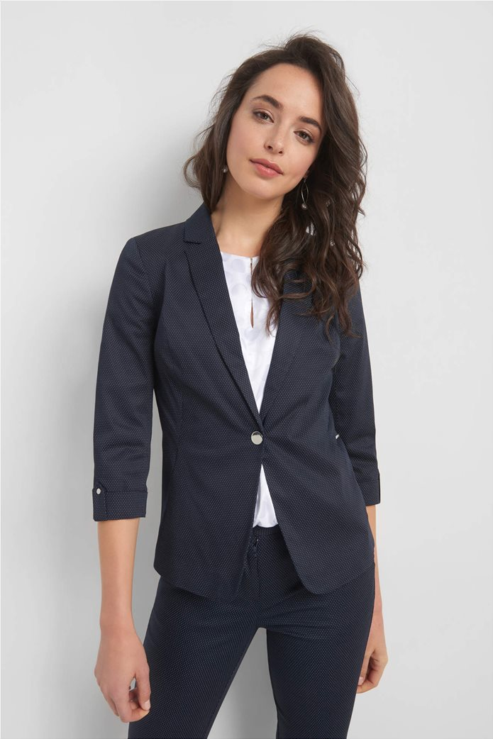 Orsay γυναικείο σακάκι με μικροσχέδιο πουά 1