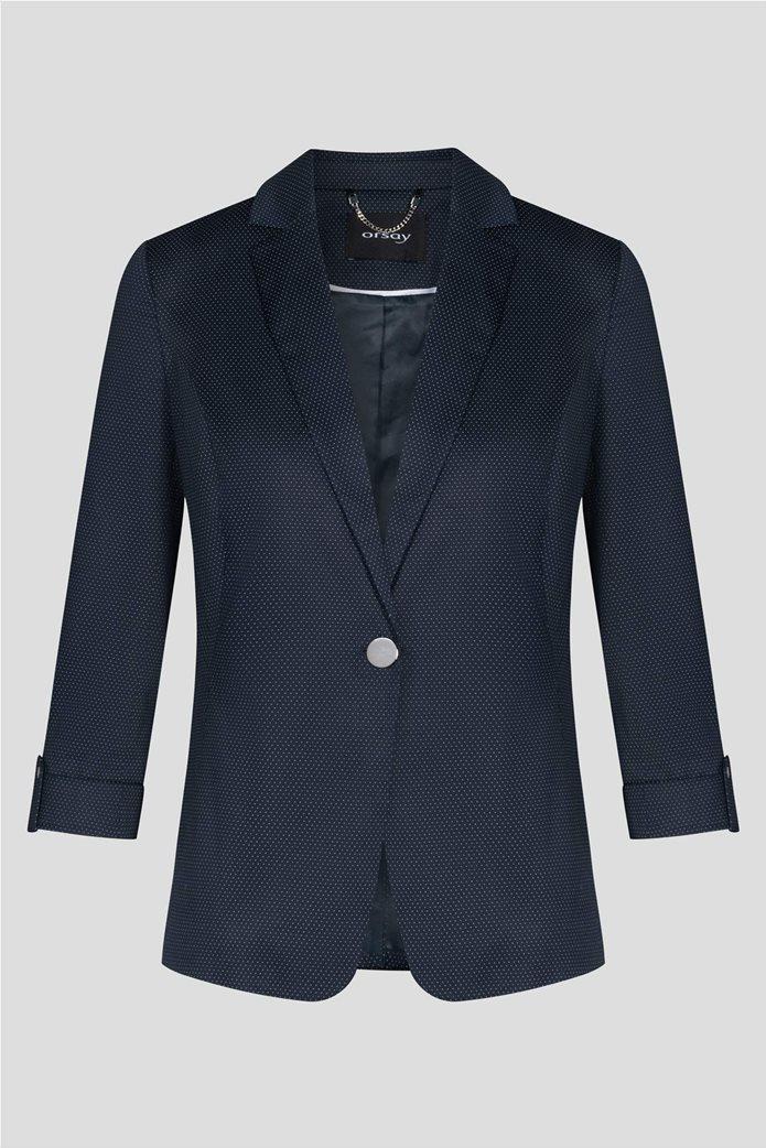Orsay γυναικείο σακάκι με μικροσχέδιο πουά 4