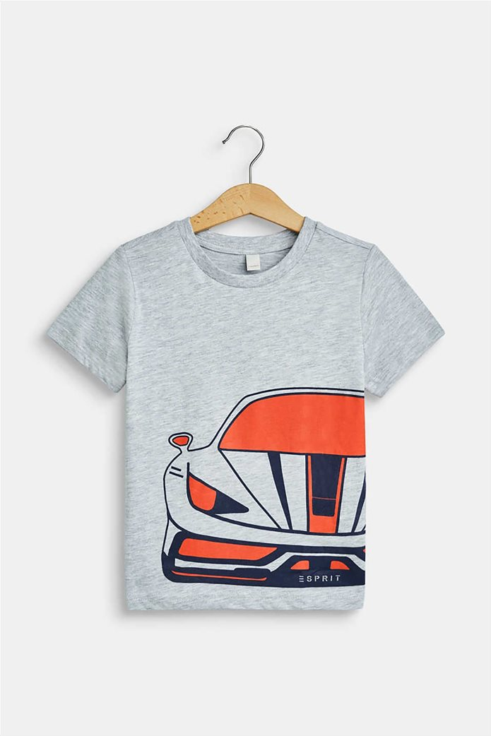Esprit παιδικό T-shirt με car print (2-9 ετών) 0