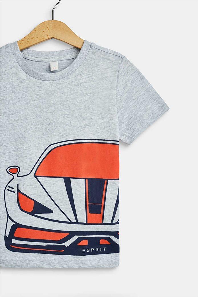 Esprit παιδικό T-shirt με car print (2-9 ετών) 2