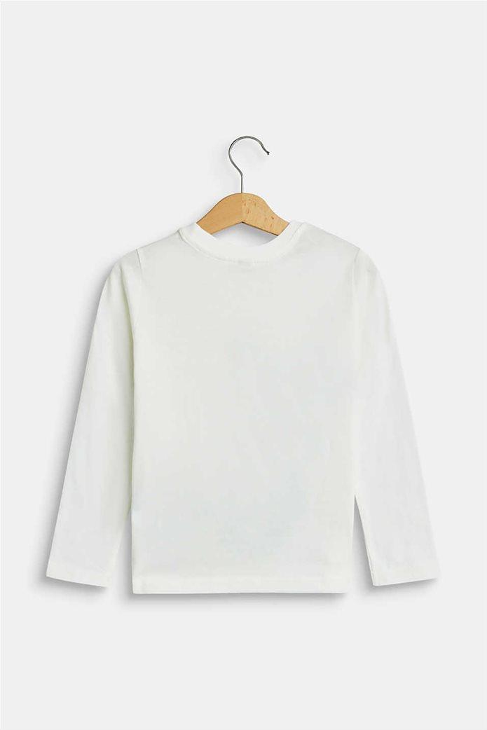 Esprit παιδική μπλούζα μακρυμάνικη με race print (2-9 ετών) 1