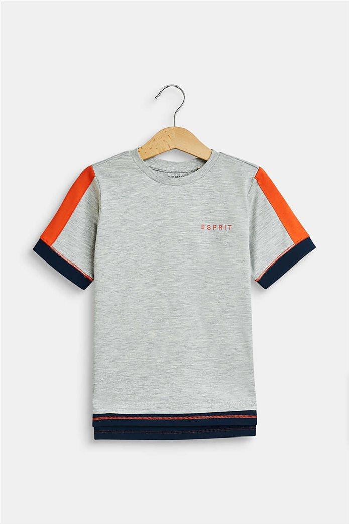 Esprit παιδικό T-shirt με colour block (2-9 ετών) 0