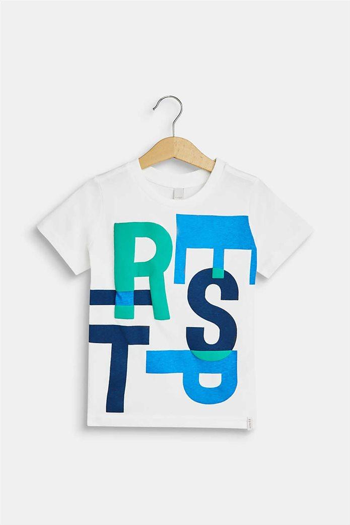 Esprit παιδικό T-shirt με 3D print (2-9 ετών) 0