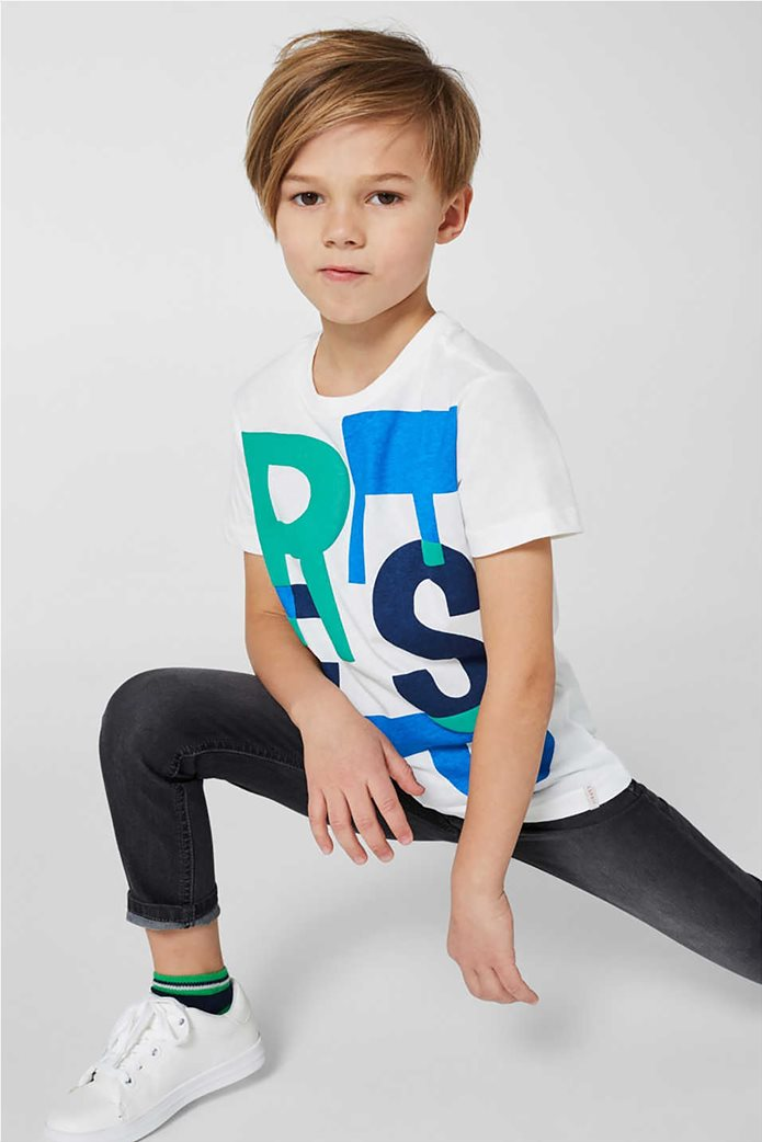 Esprit παιδικό T-shirt με 3D print (2-9 ετών) 2
