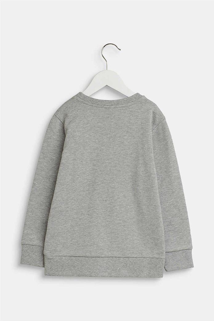 Esprit παιδική μπλούζα φούτερ με logo letter print (2-9 χρονών) 1