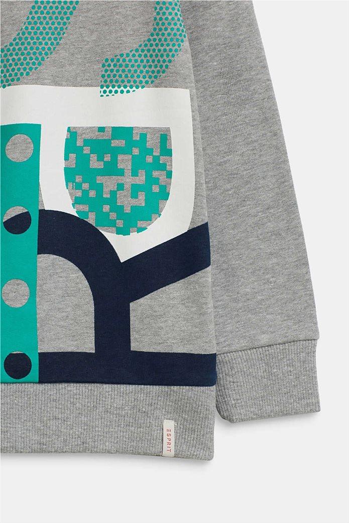 Esprit παιδική μπλούζα φούτερ με logo letter print (2-9 χρονών) 2