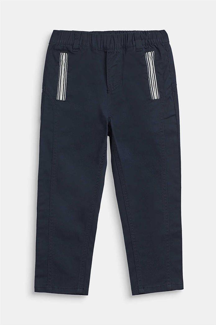 Esprit παιδικό  παντελόνι με ελαστική μέση Μπλε Σκούρο 0