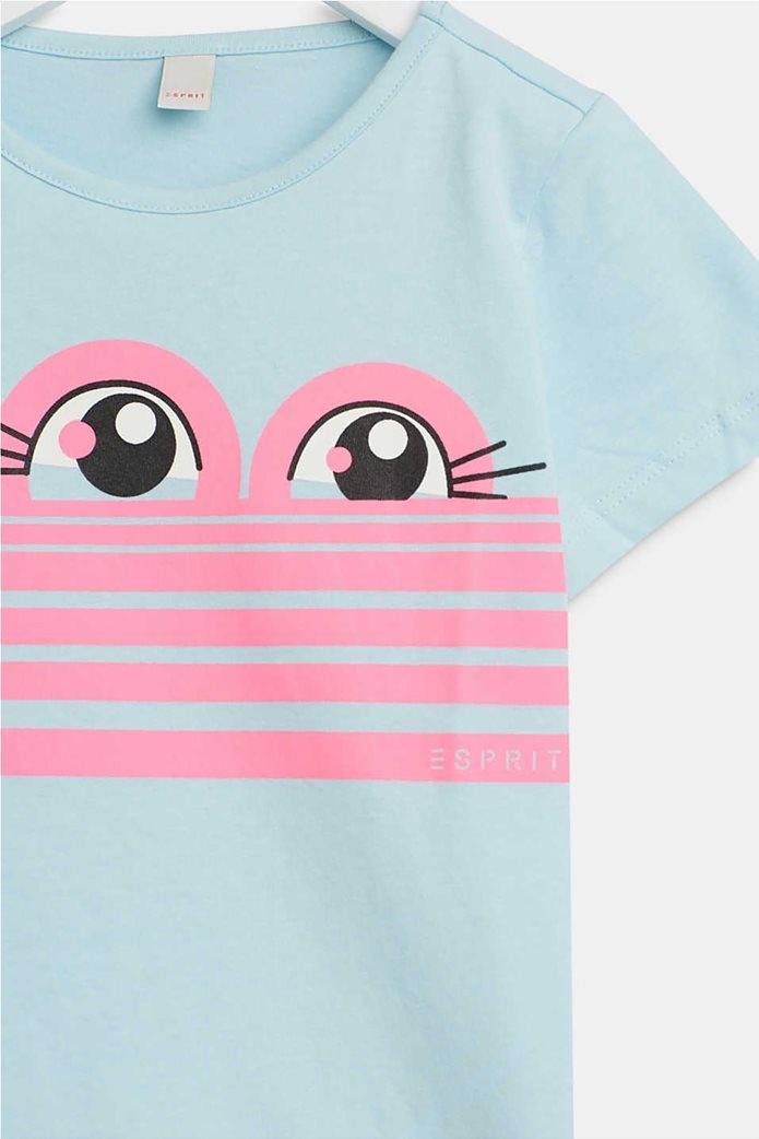 Esprit παιδικό T-shirt με sweet eye print (2-9 ετών) 2