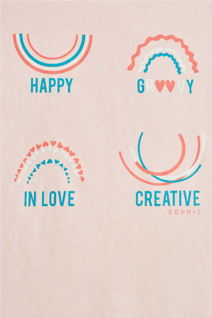 Esprit παιδικό T-shirt με πολύχρωμα print (2-9 ετών) 2