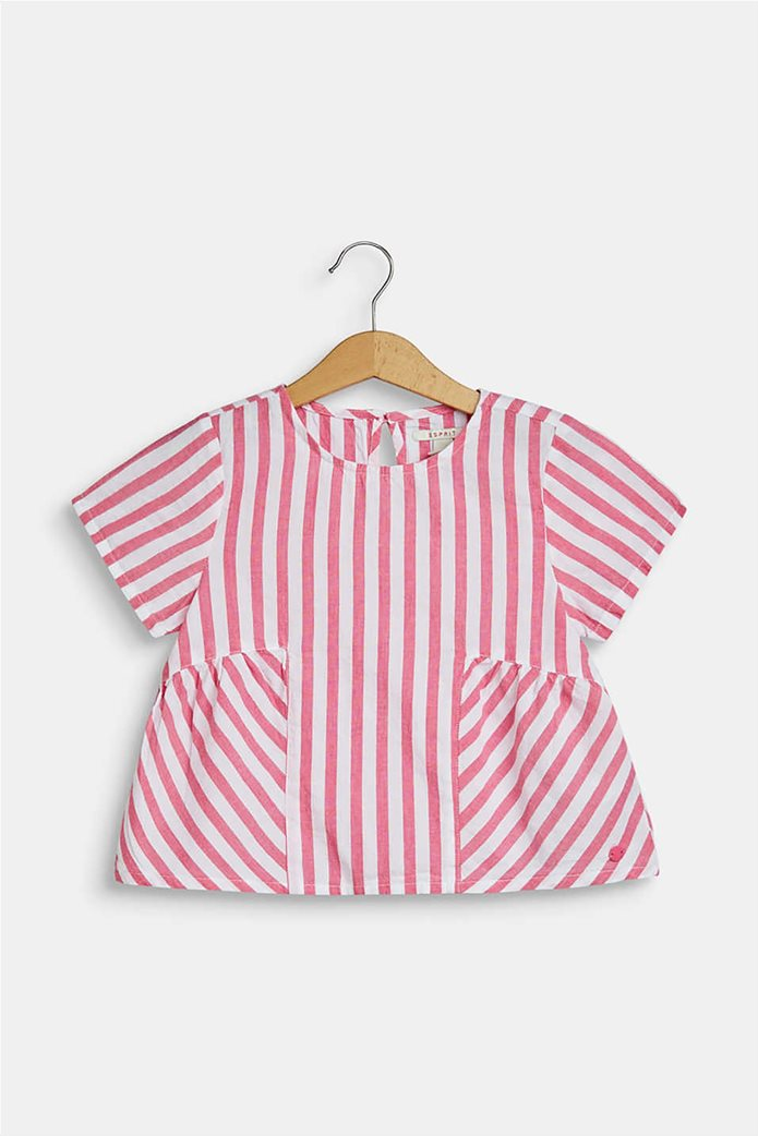 Esprit παιδική μπλούζα ριγέ flared  (2-9 ετών) 0