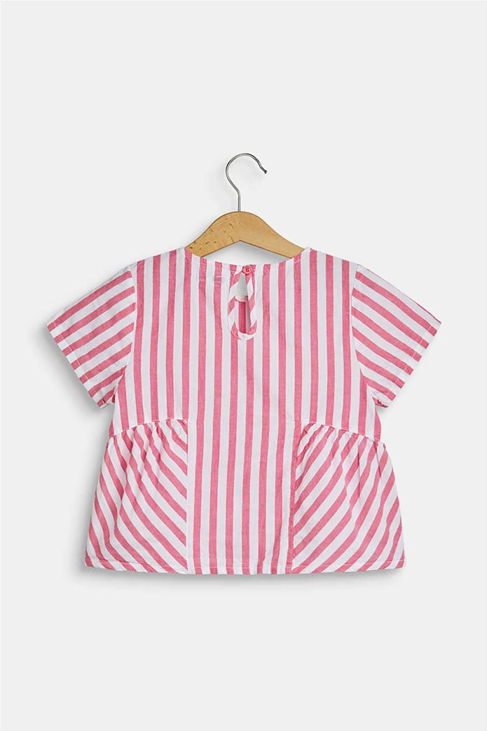 Esprit παιδική μπλούζα ριγέ flared  (2-9 ετών) 1