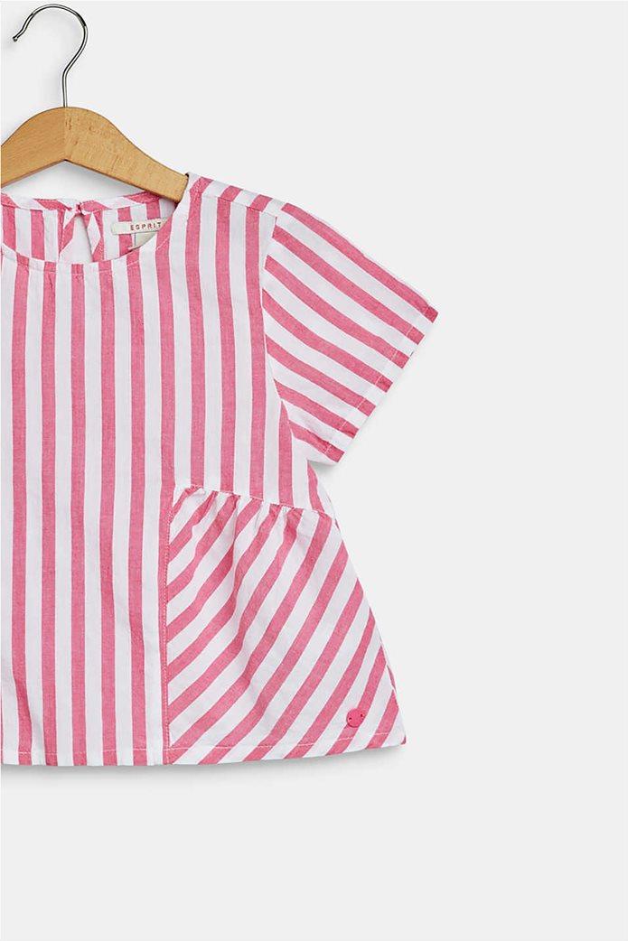 Esprit παιδική μπλούζα ριγέ flared  (2-9 ετών) 2