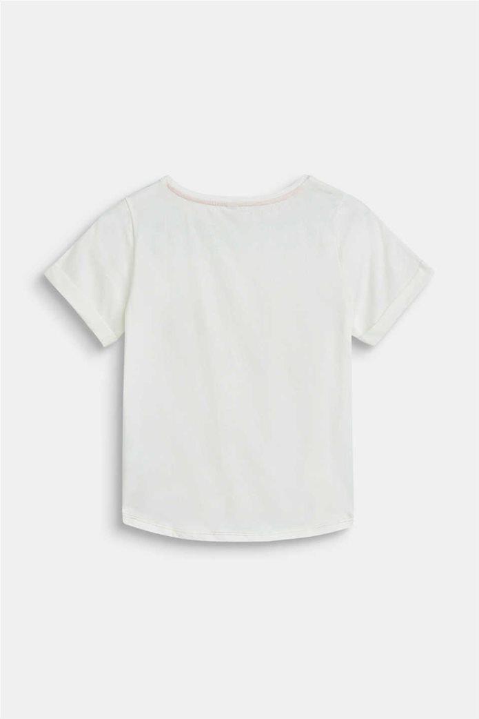 "Esprit παιδικό T-shirt με letter print ""Rainbow"" (9-14 ετών) 1"