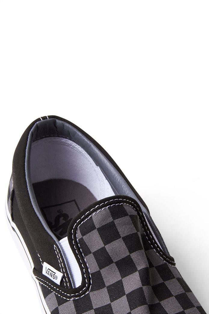 Vans unisex υφασμάτινα παπούτσια με καρό σχέδιο Classic Slip-On 3