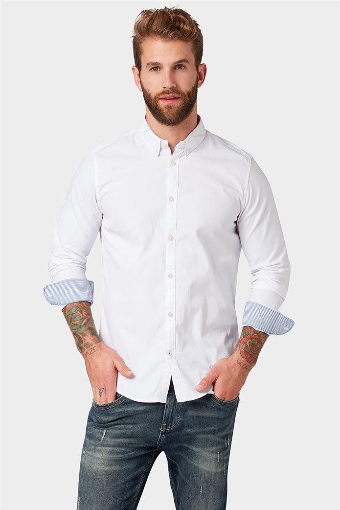 TOM TAILOR ανδρικό πουκάμισο Slim fit 0