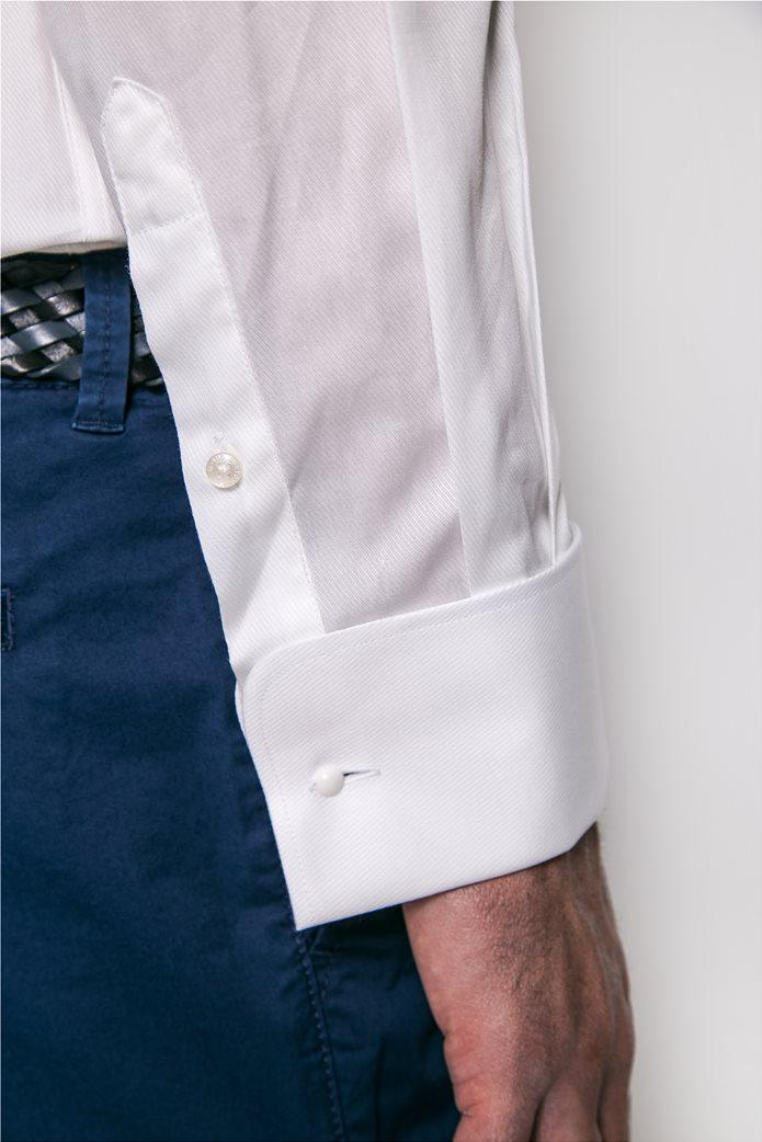The Bostonians ανδρικό πουκάμισο μονόχρωμο Λευκό 1