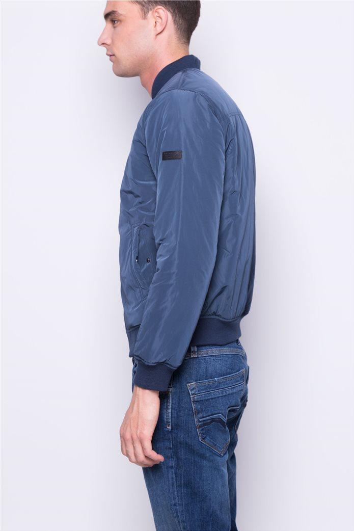 Pepe Jeans ανδρικό bomber μπουφάν μονόχρωμο 2