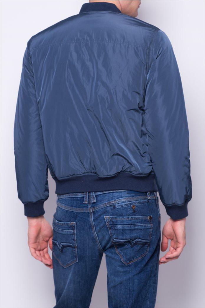 Pepe Jeans ανδρικό bomber μπουφάν μονόχρωμο 3