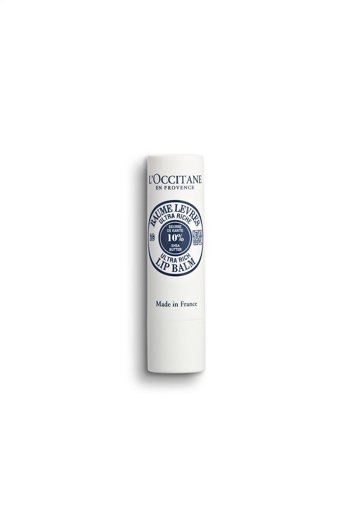 L'Occitane Shea Butter Ultra Rich Lip Balm 4.5 gr  0