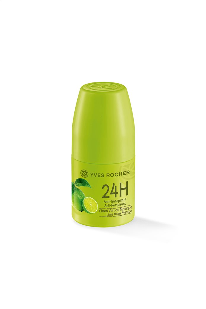 Yves Rocher Jardins du Monde 24h Anti Perspirant Lime From Mexico Roll On 50 ml 0