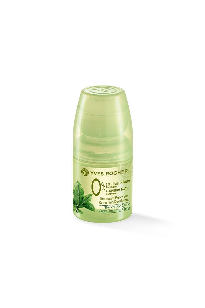 Yves Rocher Jardins du Monde Refreshing Deodorant Green Tea From China 0% Aluminium Salts Roll On 50 ml 0