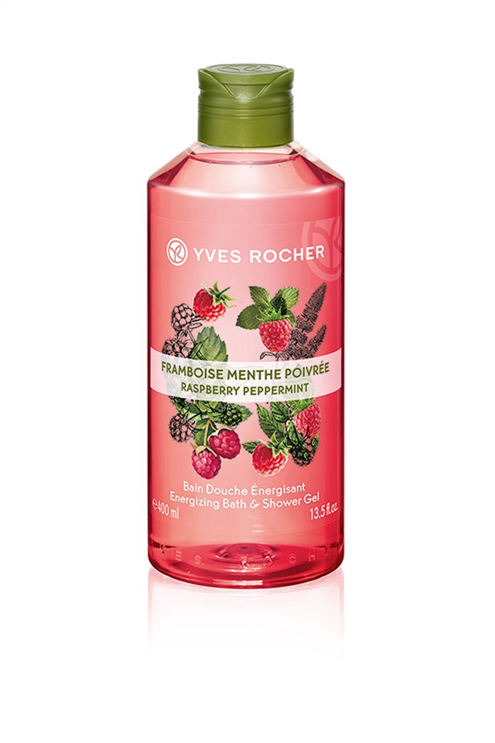 Yves Rocher Energizing Bath and Shower Gel Raspberry Peppermint 400 ml 0