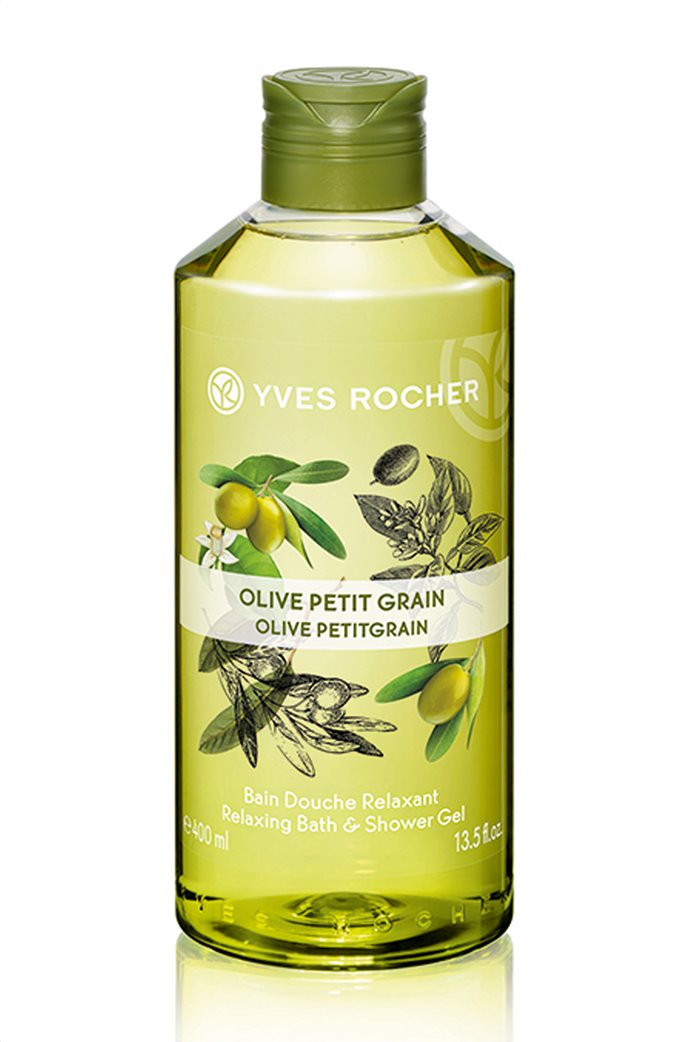 Yves Rocher Relaxing Bath and Shower Gel Olive Petitgrain 400 ml 0