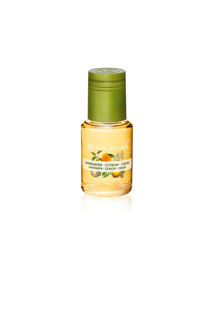 Yves Rocher Energizing Fragrance Mist Mandarin Lemon Cedar 20 ml 0