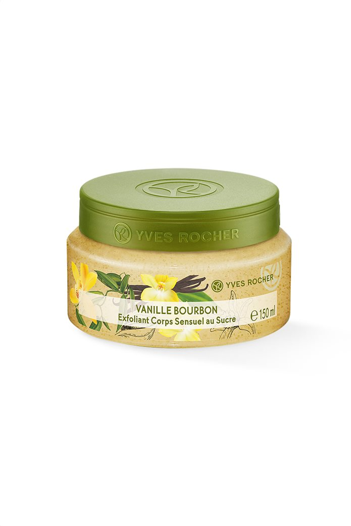 Yves Rocher Sensual Sugar Body Scrub Bourbon Vanilla 150 ml 0