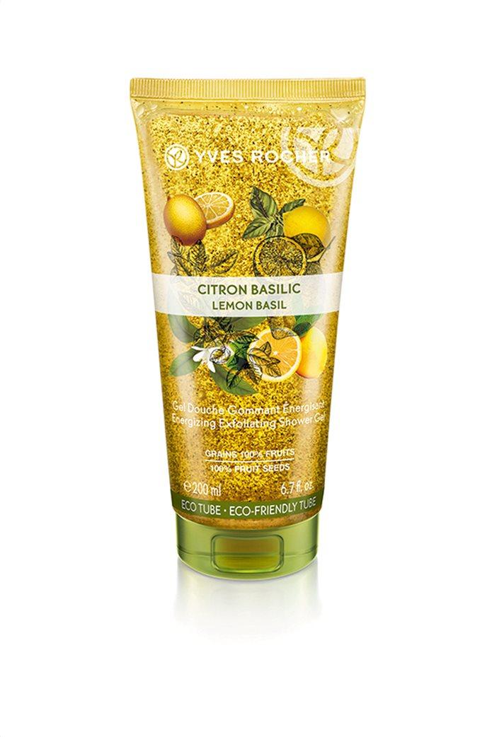 Yves Rocher Energizing Exfoliating Shower Gel Lemon Basil  200 ml 0