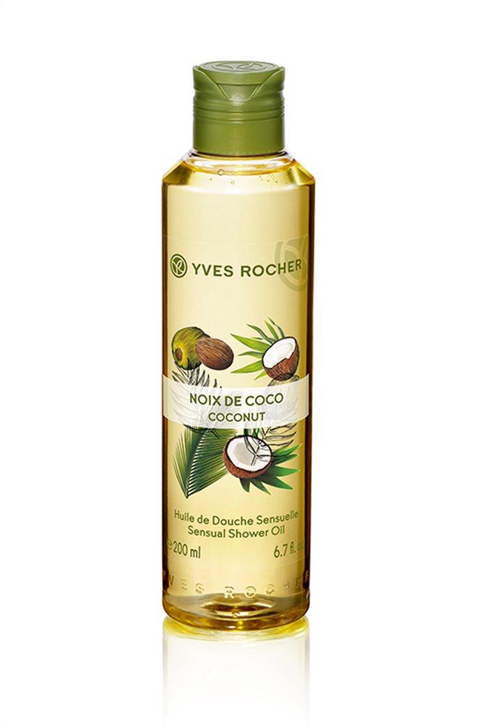 Yves Rocher Sensual Shower Oil Coconut 200 ml 0
