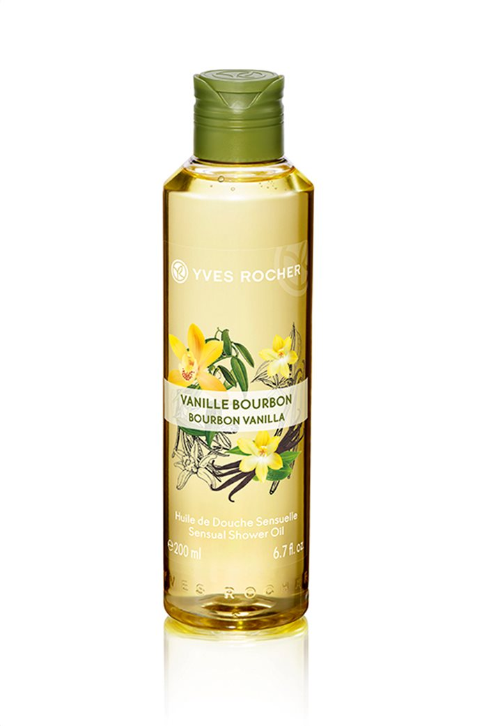 Yves Rocher Sensual Shower Oil Bourbon Vanilla 200 ml 0