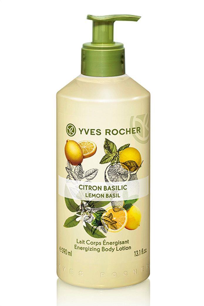 Yves Rocher Energizing Body Lotion Lemon Basil 390 ml 0