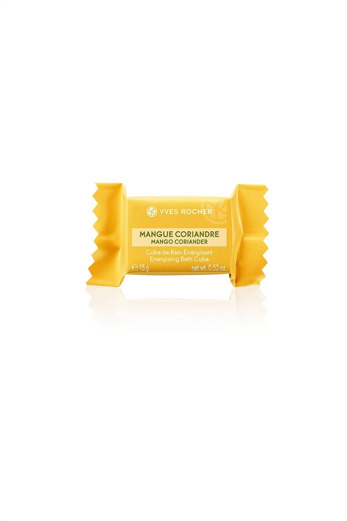 Yves Rocher Energizing Bath Cube Mango Coriander 15 gr 0