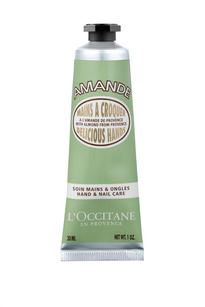L' Occitane En Provence Almond Delicious Hands Hand & Nail Care 30 ml 0