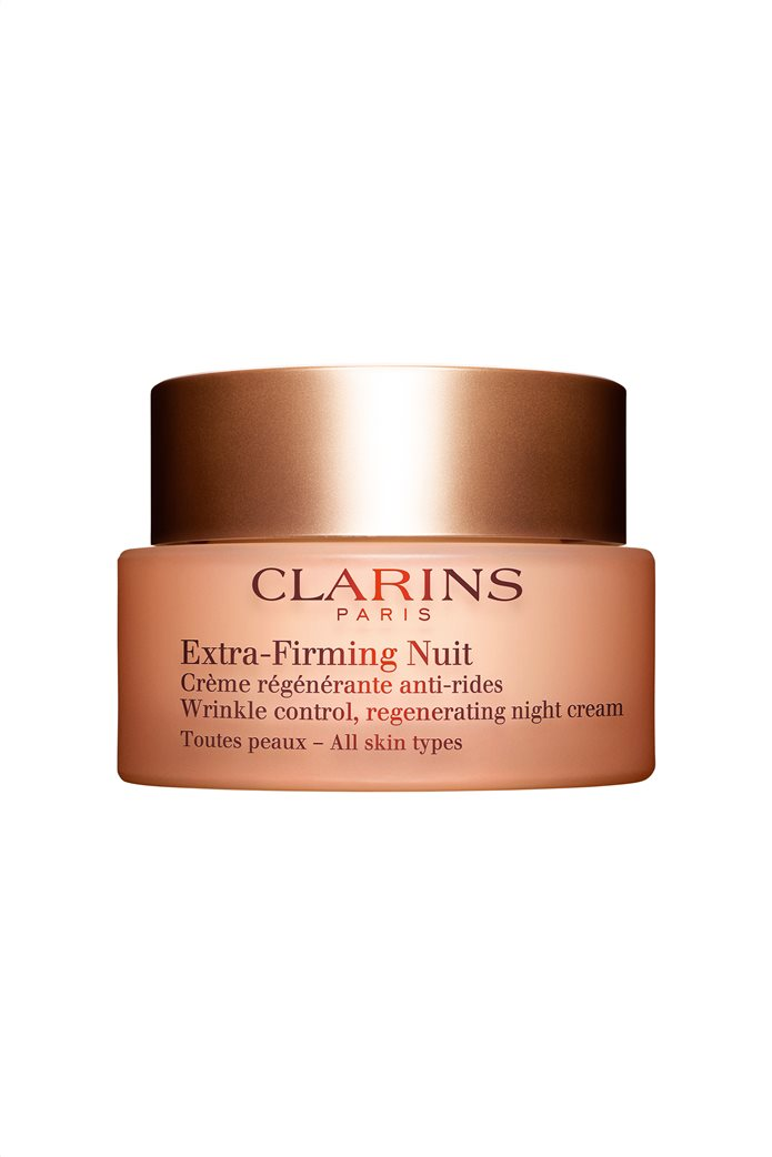 Clarins Extra Firming Nuit Wrinkle Control Regenerating Night Cream All Skin Types 50 ml 0