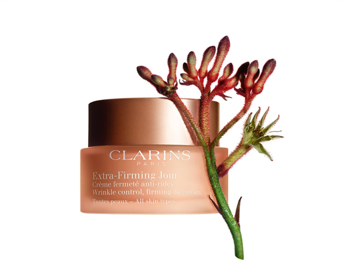 Clarins Extra Firming Jour Wrinkle Control Firming Day Cream All Skin Types 50 ml 2