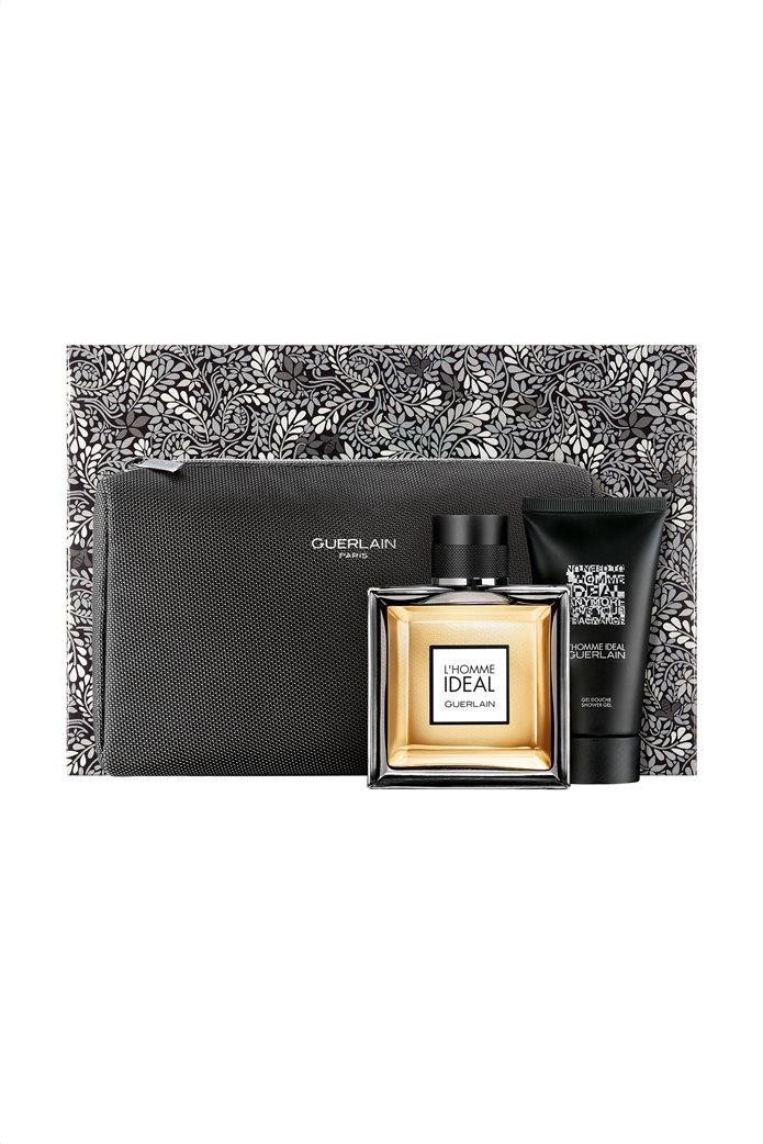 Guerlain L' Homme Idéal EdT 100 ml Set With Shower Gel 75 ml and Necessaire Bag 0
