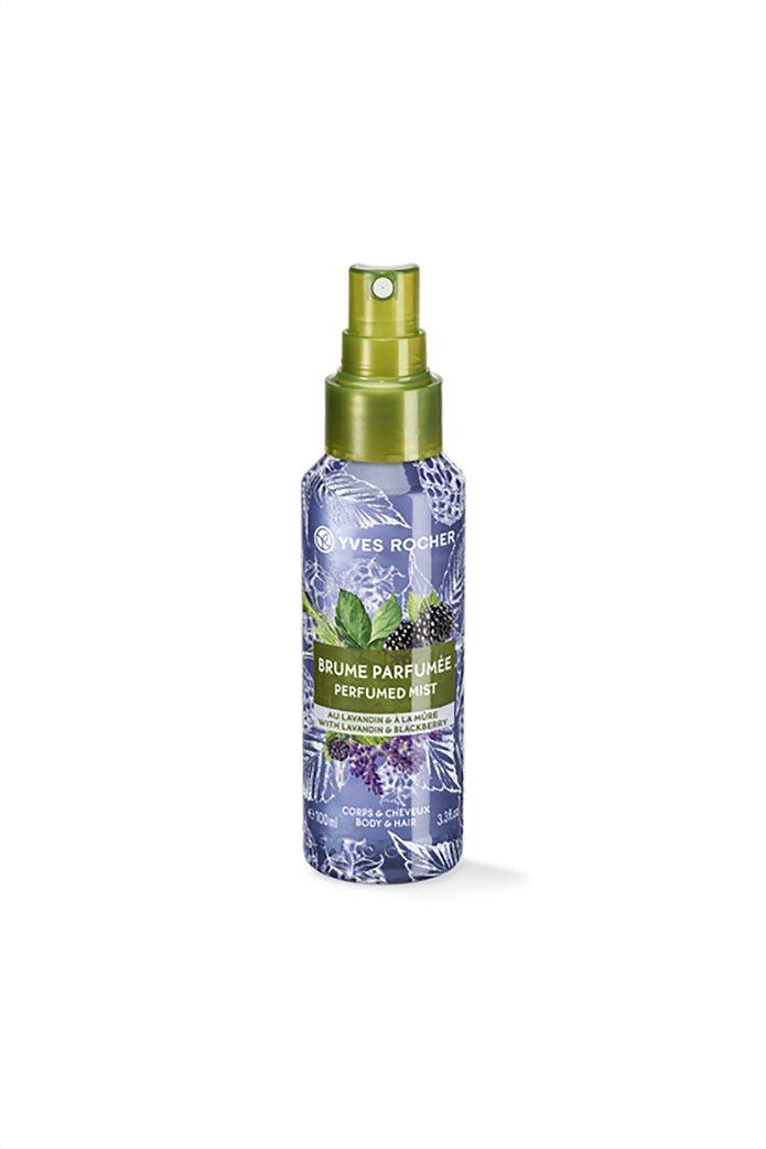 Yves Rocher Relaxing Perfumed Mist Lavandin Blackberry for Hair & Body 100 ml  0