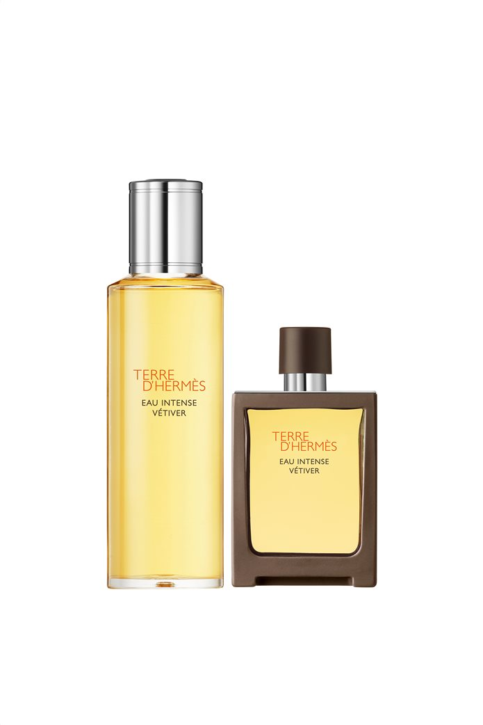 Hermès Terre d'Hermès Eau Intense Vétiver Eau de Parfum Βαποριζατέρ Ταξιδιού 121 gr/30 ml & Ανταλλακτικό 125 ml 0