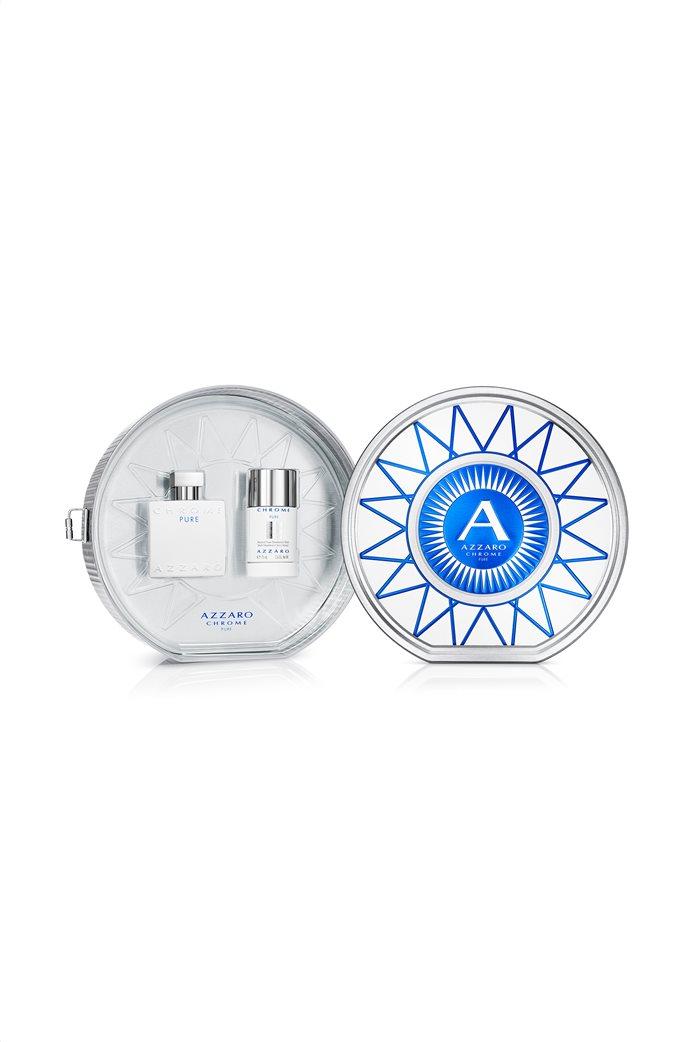 Azzaro Chome Pure Eau De Toilette Set 100 ml 0