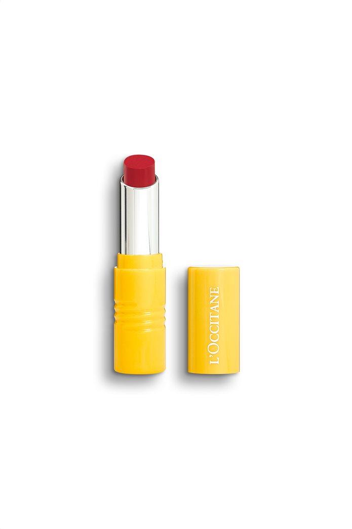 L'Occitane Intense Fruity Lipstick Rouge Craquant 3 gr 0