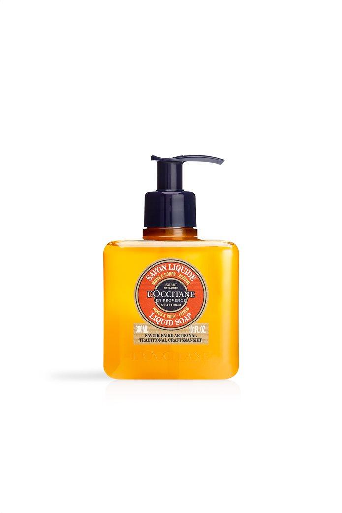 L'Occitane Shea Citrus Liquid Soap 300 ml 0