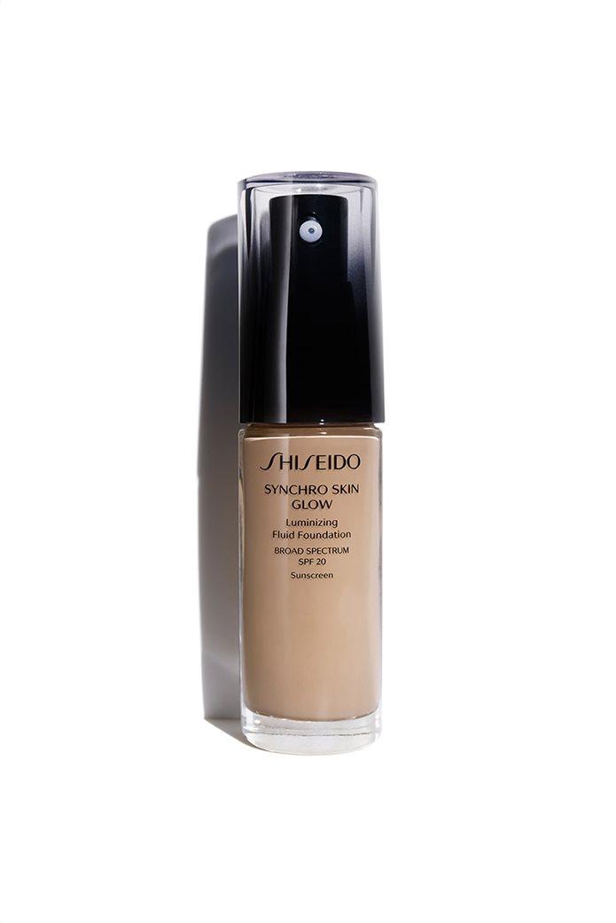 Shiseido Synchro Skin Glow Liquid Foundation Neutral 4 30 ml  0