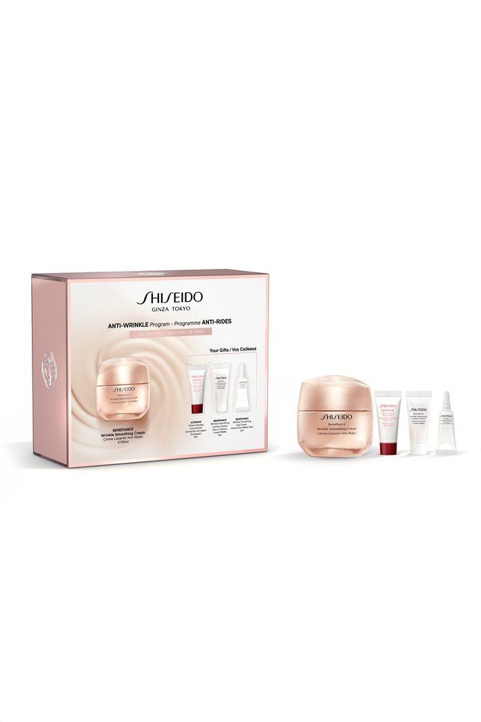 Shiseido Benefiance Wrinkle Smoothing Cream Value Set 50 ml  0