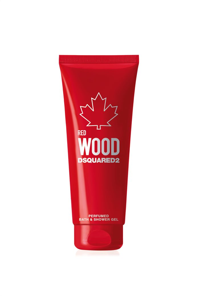 Dsquared2 Wood Red Pour Femme Perfumed Bath & Shower Gel Tube 200 ml 0