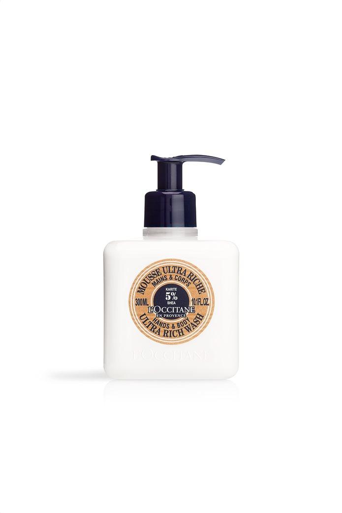 L'Occitane Shea Hands & Body Ultra Rich Wash 300 ml 0