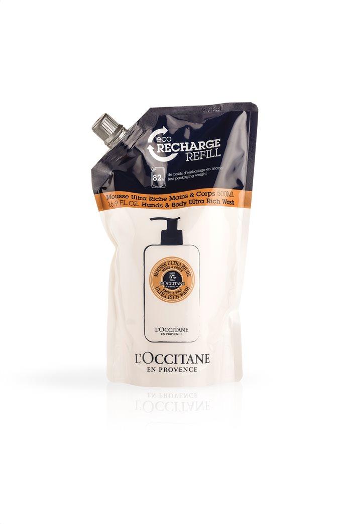 L'Occitane Shea Hands & Body Ultra Rich Wash Eco Refill 500 ml 0
