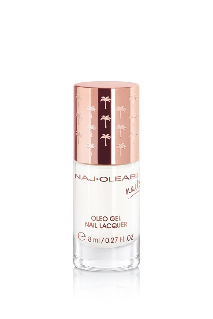 Naj-Oleari Oleo Gel Nail Lacquer 02 Milk White 8 ml 0